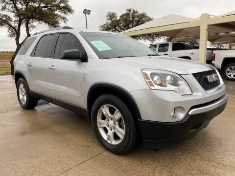 2010 GMC Acadia for sale at Thornhill Motor Company in Hudson Oaks, TX