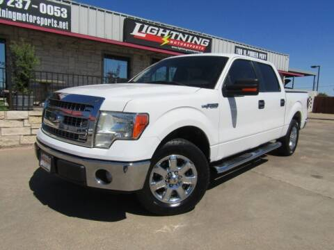 2013 Ford F-150 for sale at Lightning Motorsports in Grand Prairie TX