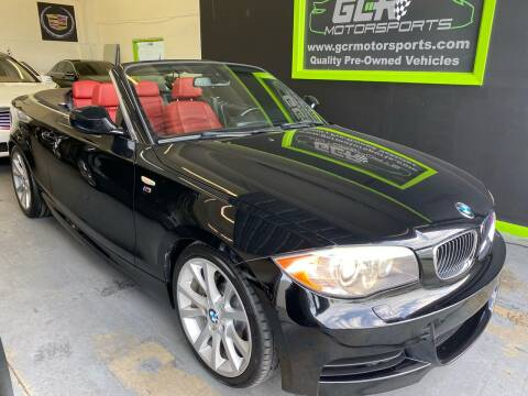 2012 BMW 1 Series for sale at GCR MOTORSPORTS in Hollywood FL