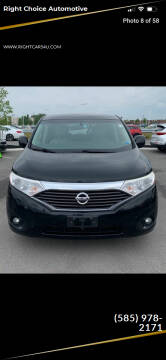 2013 Nissan Quest for sale at Right Choice Automotive in Rochester NY