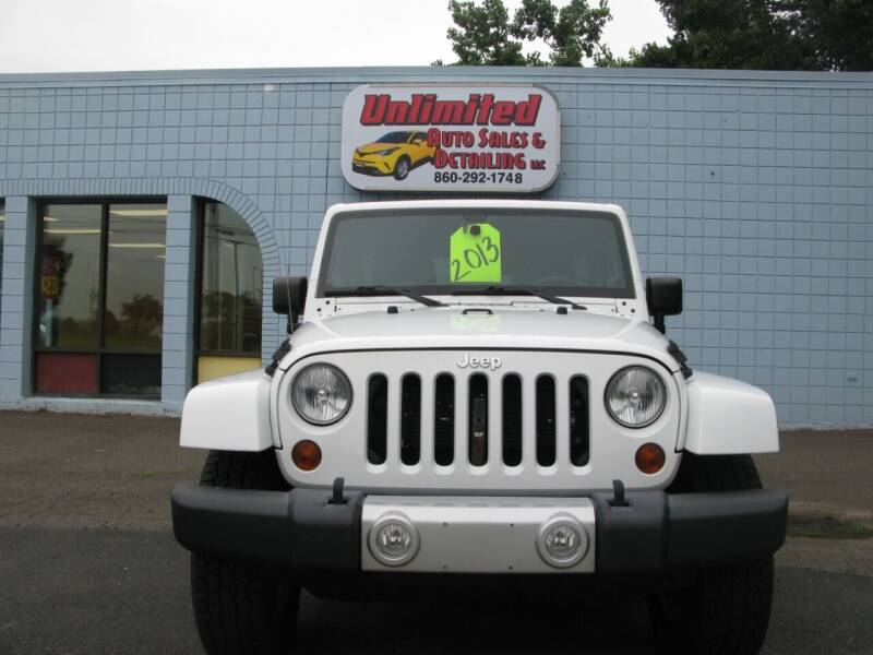 2013 Jeep Wrangler Unlimited for sale at Unlimited Auto Sales & Detailing, LLC in Windsor Locks CT