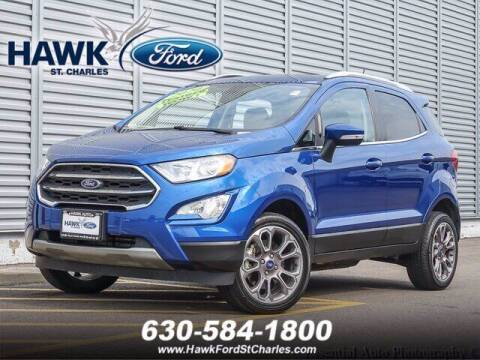 2020 Ford EcoSport for sale at Hawk Ford of St. Charles in Saint Charles IL