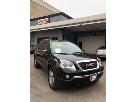 2011 GMC Acadia for sale at 3B Auto Center in Modesto CA