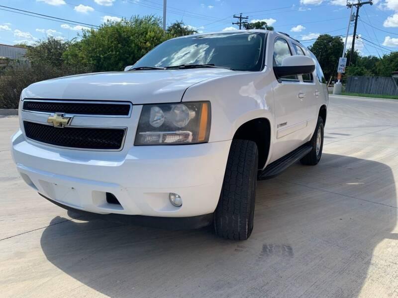 2008 Chevrolet Tahoe for sale at K & B Motors LLC in Mc Queeney TX