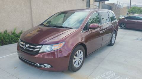 2017 Honda Odyssey for sale at Masi Auto Sales in San Diego CA