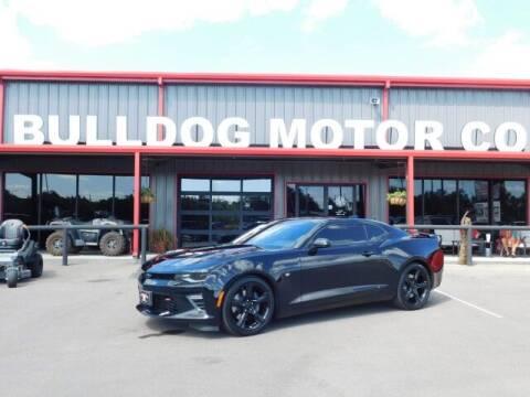 2018 Chevrolet Camaro for sale at Bulldog Motor Company in Borger TX