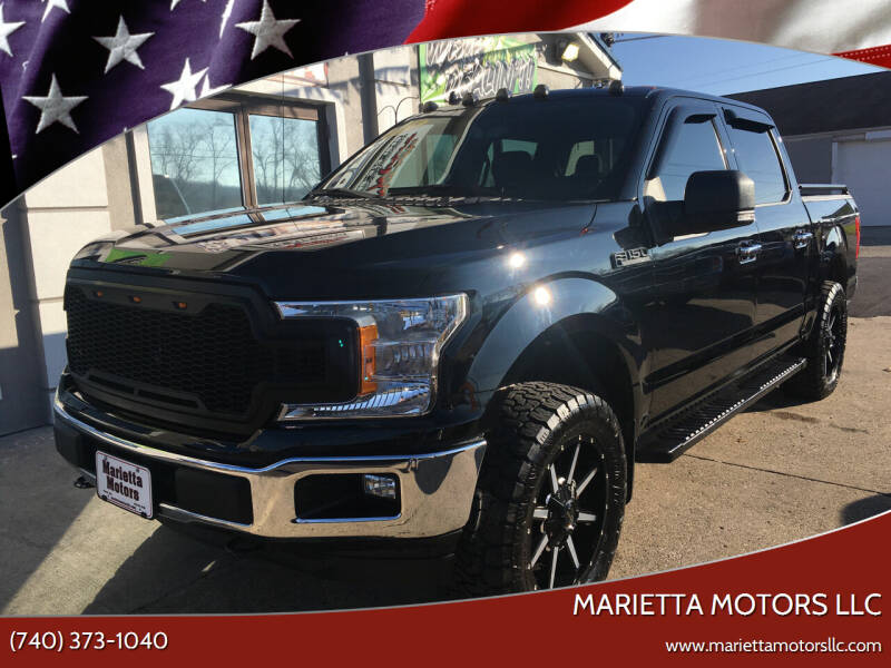 2018 Ford F-150 for sale at MARIETTA MOTORS LLC in Marietta OH