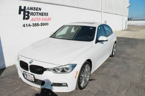 2017 BMW 3 Series for sale at HANSEN BROTHERS AUTO SALES in Milwaukee WI