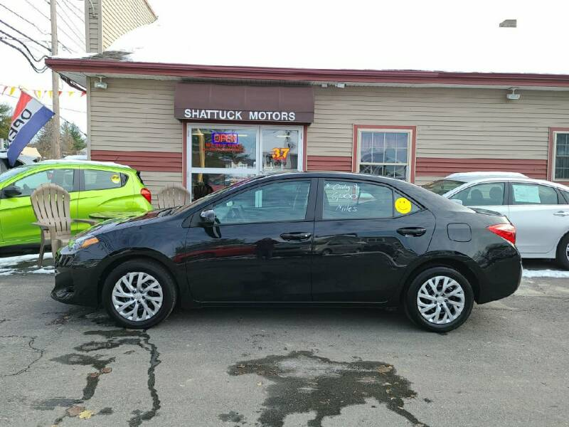 2018 Toyota Corolla for sale at Shattuck Motors in Newport VT