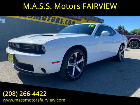 2019 Dodge Challenger for sale at M.A.S.S. Motors - Fairview in Boise ID