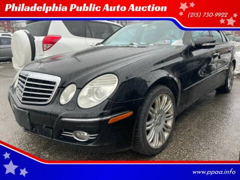 2007 Mercedes-Benz E-Class for sale at Philadelphia Public Auto Auction in Philadelphia PA