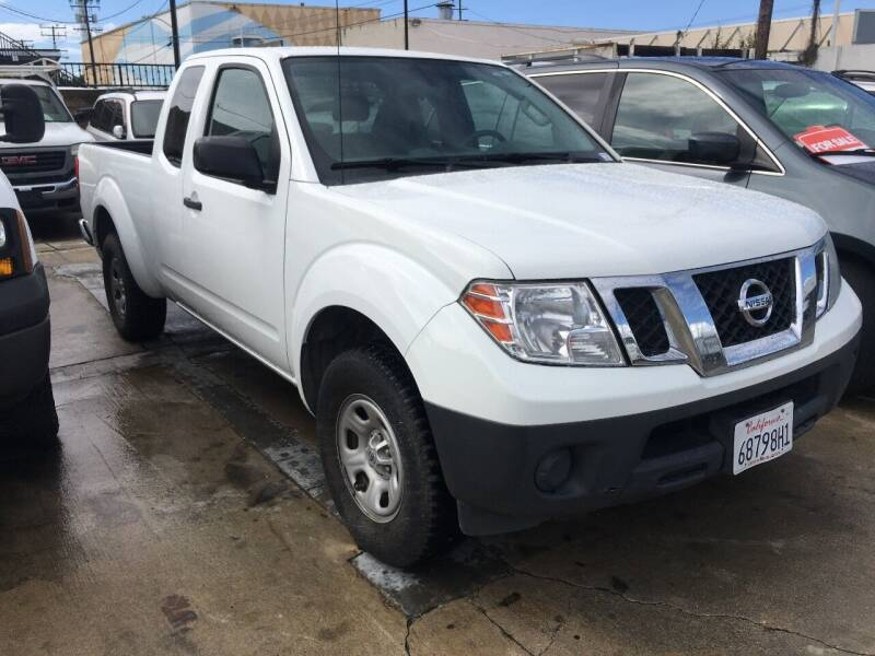 2014 Nissan Frontier for sale at OCEAN IMPORTS in Midway City CA