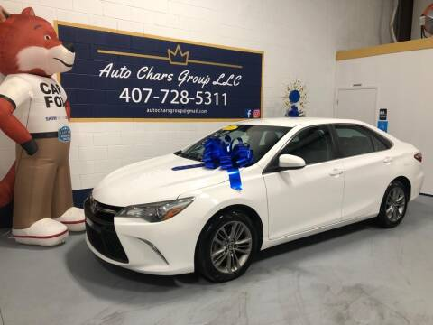 2016 Toyota Camry for sale at Auto Chars Group LLC in Orlando FL