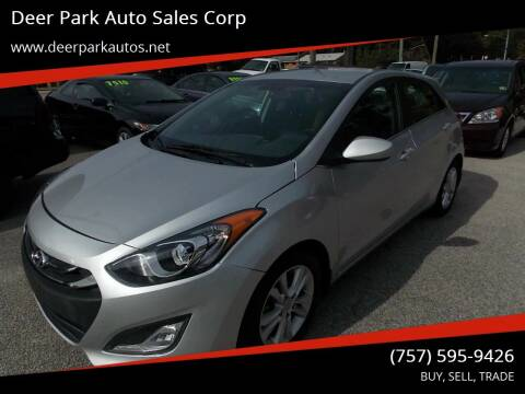 2013 Hyundai Elantra GT for sale at Deer Park Auto Sales Corp in Newport News VA