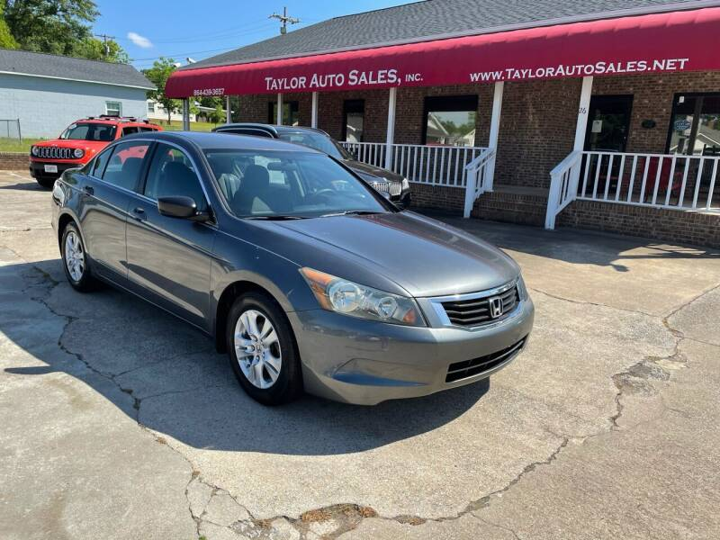 2009 Honda Accord for sale at Taylor Auto Sales Inc in Lyman SC
