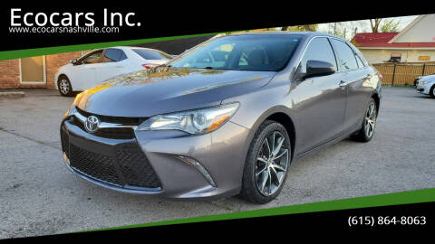 2016 Toyota Camry for sale at Ecocars Inc. in Nashville TN