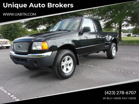 2002 Ford Ranger for sale at Unique Auto Brokers in Kingsport TN