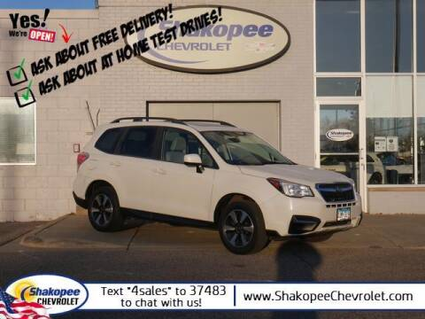 2017 Subaru Forester for sale at SHAKOPEE CHEVROLET in Shakopee MN