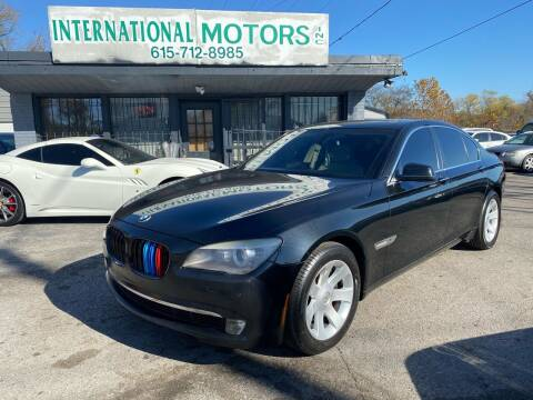 2011 BMW 7 Series for sale at International Motors Inc. in Nashville TN