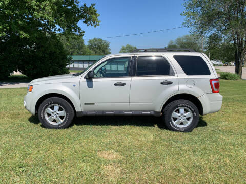 2008 Ford Escape for sale at Velp Avenue Motors LLC in Green Bay WI