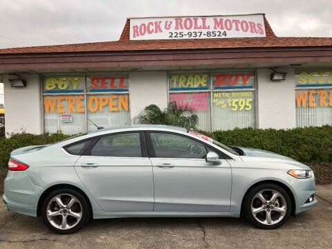 2014 Ford Fusion Hybrid for sale at Rock & Roll Motors in Baton Rouge LA