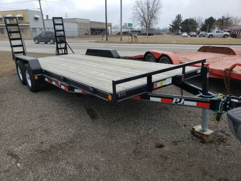2017 PJ Trailer ce202 for sale at Autos Unlimited, LLC in Adrian MI