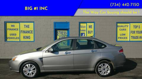 2008 Ford Focus for sale at BIG #1 INC in Brownstown MI