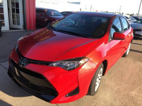 2018 Toyota Corolla for sale at Top Line Auto Sales in Idaho Falls ID