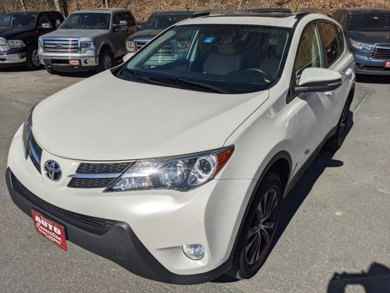 2015 Toyota RAV4 for sale at AUTO CONNECTION LLC in Springfield VT