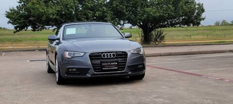 2013 Audi A5 for sale at America's Auto Financial in Houston TX