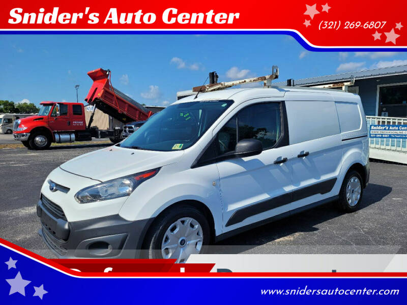 2016 Ford Transit Connect Cargo for sale at Snider's Auto Center in Titusville FL