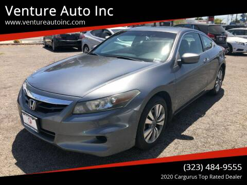2011 Honda Accord for sale at Venture Auto Inc in South Gate CA