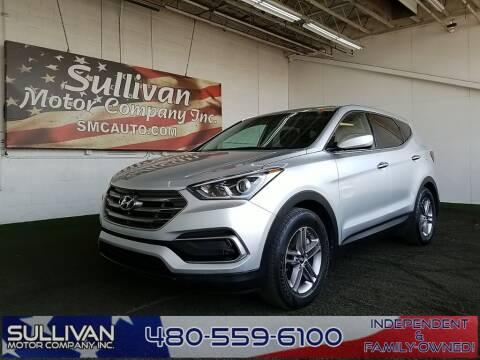 2017 Hyundai Santa Fe Sport for sale at SULLIVAN MOTOR COMPANY INC. in Mesa AZ
