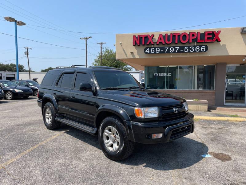 2001 Toyota 4Runner for sale at NTX Autoplex in Garland TX