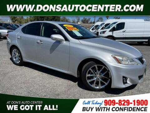 2012 Lexus IS 250 for sale at Dons Auto Center in Fontana CA
