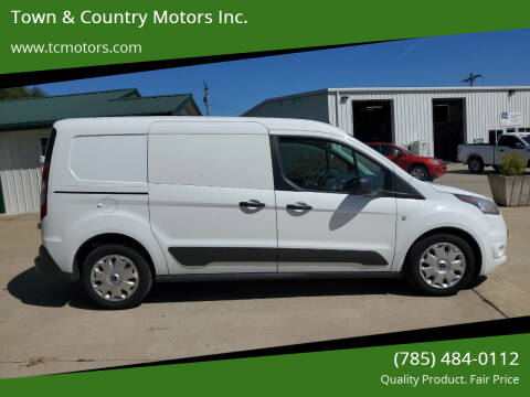 2015 Ford Transit Connect Cargo for sale at Town & Country Motors Inc. in Meriden KS