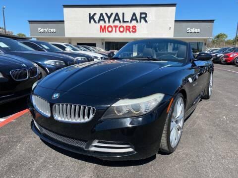 2011 BMW Z4 for sale at KAYALAR MOTORS in Houston TX