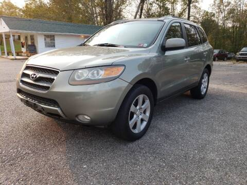 2007 Hyundai Santa Fe for sale at Ona Used Auto Sales in Ona WV