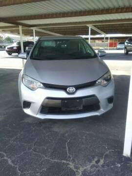 2015 Toyota Corolla for sale at Kann Enterprises Inc. in Lovington NM