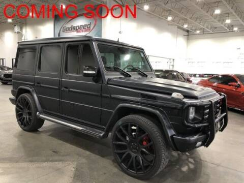 2012 Mercedes-Benz G-Class for sale at Godspeed Motors in Charlotte NC