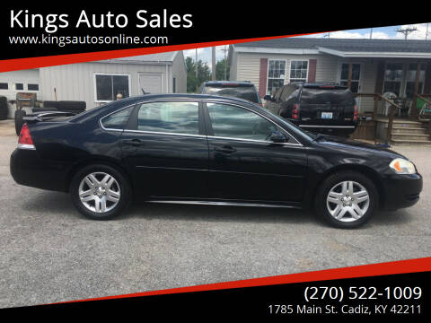 2012 Chevrolet Impala for sale at Kings Auto Sales in Cadiz KY