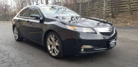 2012 Acura TL for sale at U.S. Auto Group in Chicago IL