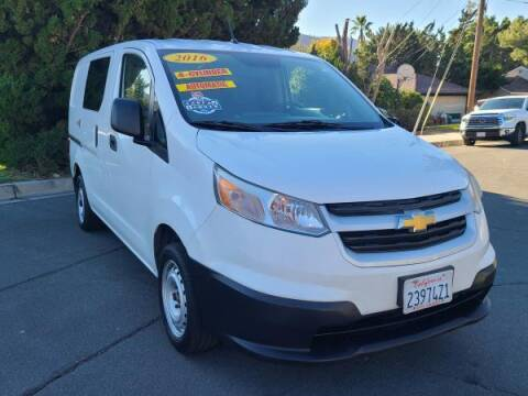 2016 Chevrolet City Express Cargo for sale at CAR CITY SALES in La Crescenta CA