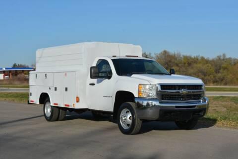 2008 Chevrolet Silverado 3500HD CC for sale at Signature Truck Center - Service-Utility Truck in Crystal Lake IL
