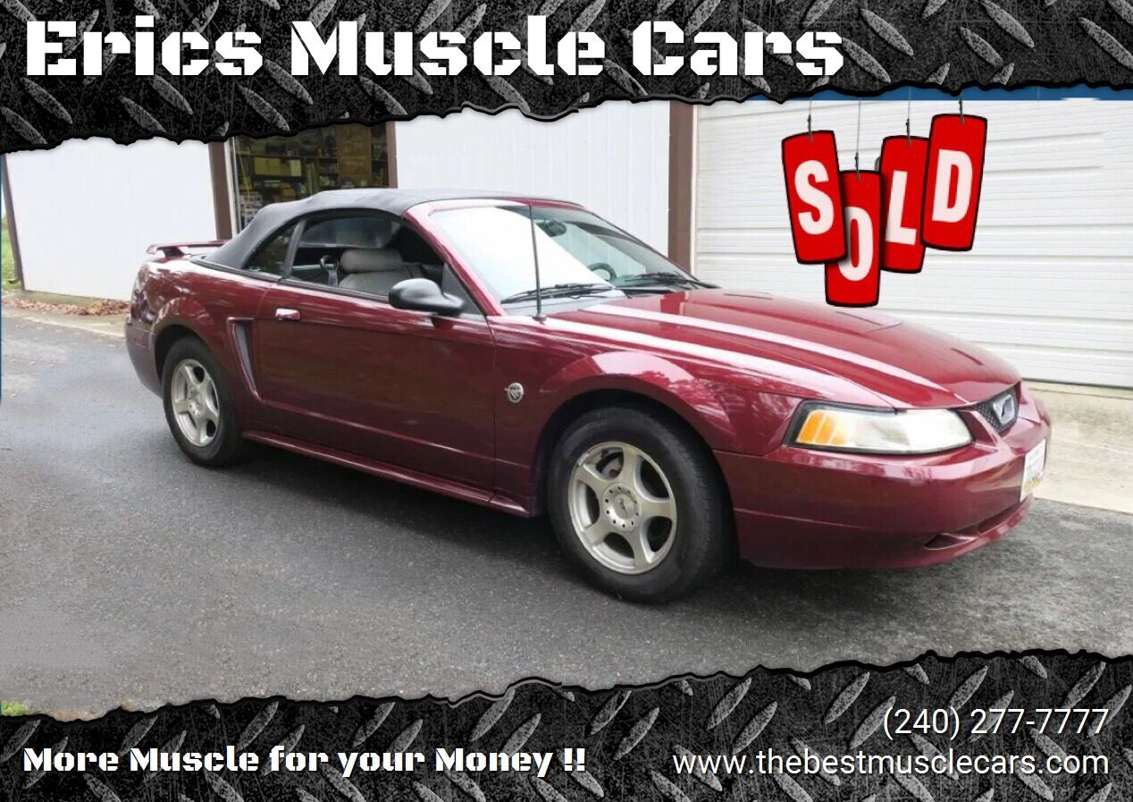 2004 Ford Mustang 40th Anniversary SOLD SOLD SOLD