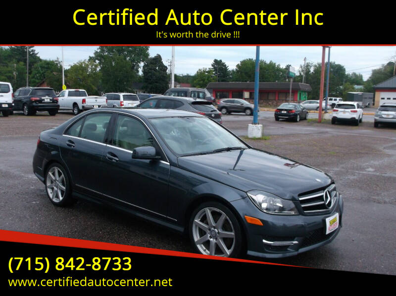 2014 Mercedes-Benz C-Class for sale at Certified Auto Center Inc in Wausau WI