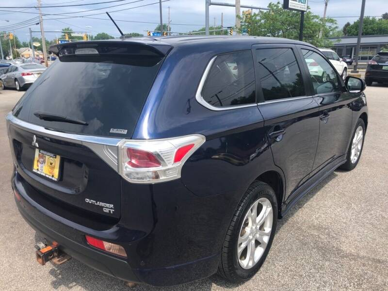 2014 Mitsubishi Outlander for sale at MR Auto Sales Inc. in Eastlake OH