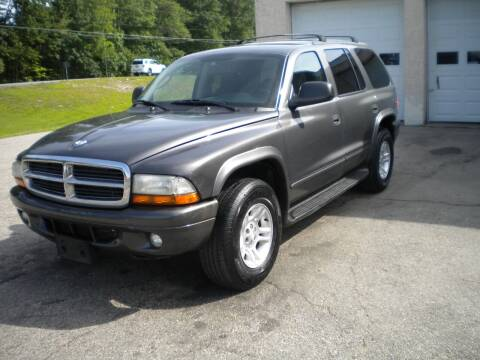 2003 Dodge Durango for sale at Route 111 Auto Sales in Hampstead NH