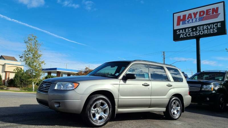 2006 Subaru Forester for sale at Hayden Cars in Coeur D Alene ID