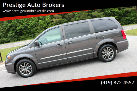 2015 Chrysler Town and Country for sale at Prestige Auto Brokers in Raleigh NC